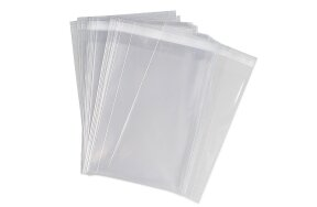 OPP BAGS WITH SEALING TAPE